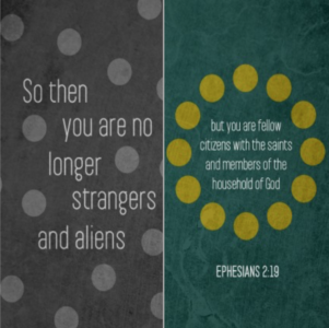 No Longer Strangers - Ephesians 2:19-22