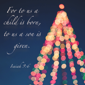 For Unto Us a Child is Born