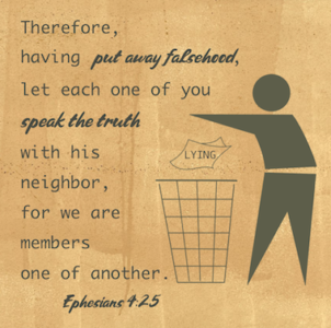 Speak The Truth - Ephesians 4:15