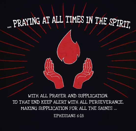 Praying-all-times