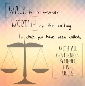Walk Worthy (Part 2) - Ephesians 4:1-6
