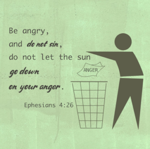 Anger - Ephesians 4:26-27