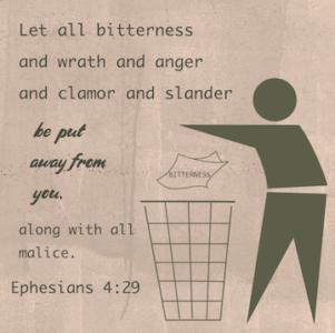 Bitterness And Forgiveness - Ephesians 4:31-32